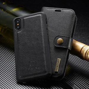 Accessories - Removable Leather Wallet Case Cover for iPhone